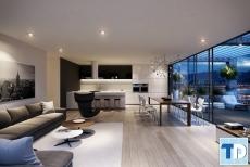 Bí quyết thiết kế nội thất phòng khách chung cư sang trọng