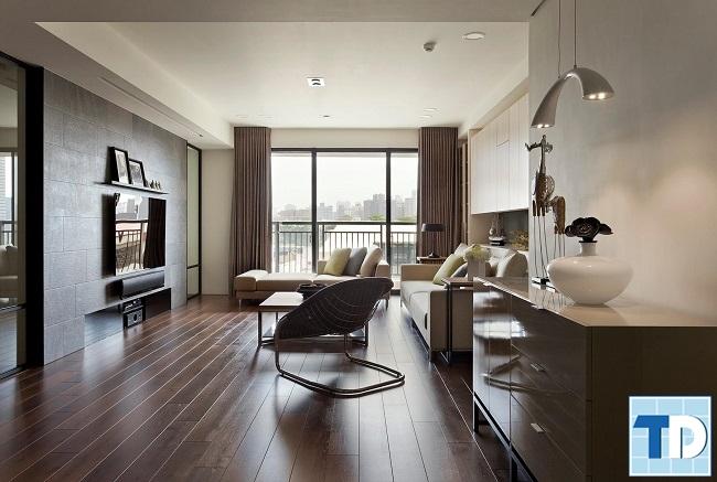 Mẫu phòng khách đơn giản hiện đại