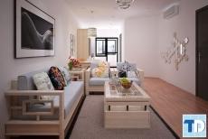 Nội thất gỗ sồi cho chung cư tại Hà Nội bền đẹp tiện nghi hiện đại