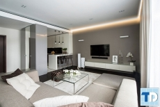 Thiết kế nội thất nhà chung cư đẳng cấp siêu sang triệu người mơ ước
