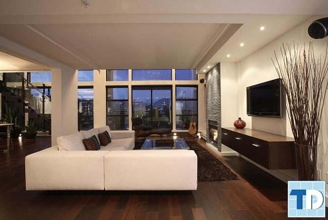 Phòng khách hiện đại cao cấp
