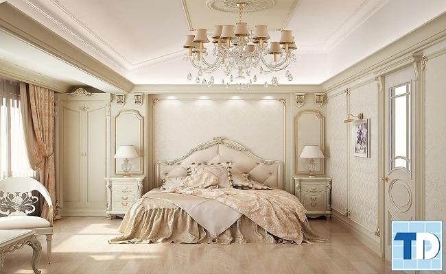 Mẫu giường ngủ trang nhã
