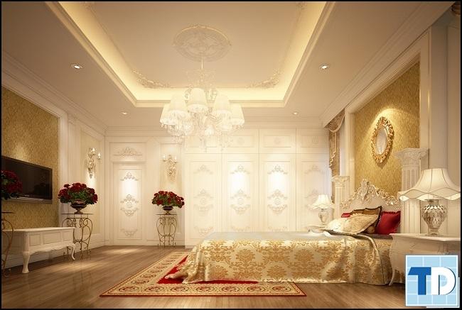 Các mẫu giường tân cổ điển nhập khẩu quyến rũ mang lại giấc ngủ ngon