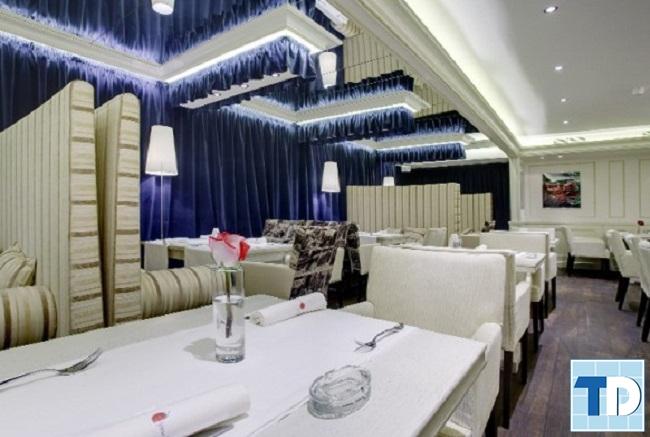 Mẫu nội thất nhà hàng cao cấp