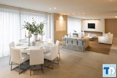 Không gian ấm cúng với thiết kế nội thất phòng ăn đẹp