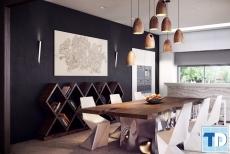 Thiết kế nội thất phòng ăn đơn giản mà tinh tế hoàn hảo