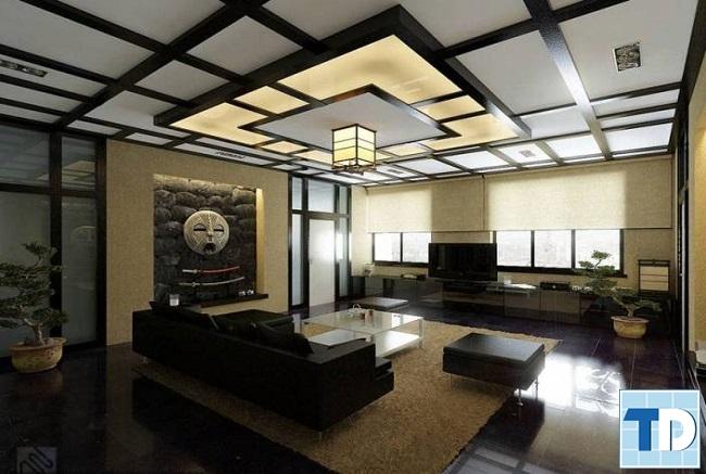 Phòng khách theo phong cách Nhật
