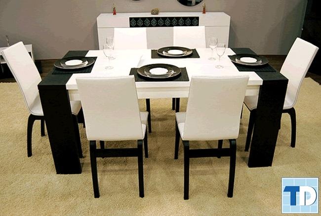 Thiết kế phòng ăn đẹp lịch lãm