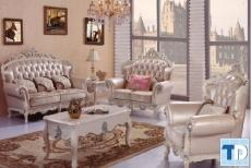 Trang hoàng phong cách quý tộc với mẫu sofa tân cổ điển đẹp giá rẻ