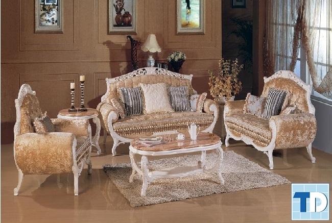 Mẫu sofa tân cổ điển sang trọng