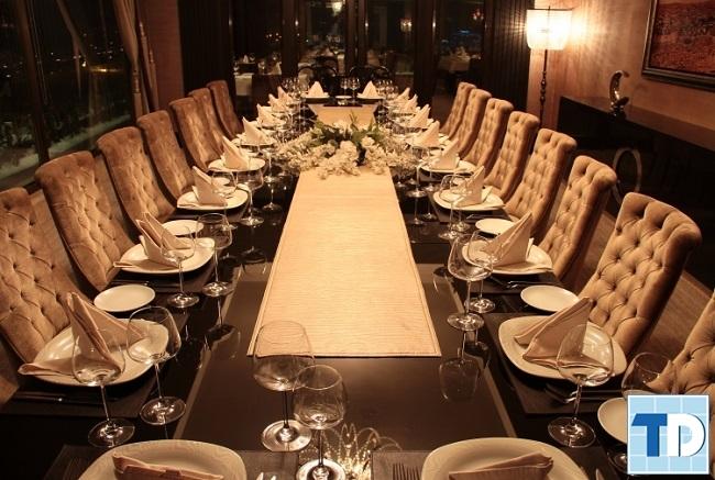 Nội thất nhà hàng cao cấp sang trọng