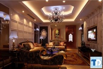 Ngắm thiết kế nhà 4 tầng tân cổ điển đẹp hiện đại đẳng cấp xu hướng 2016
