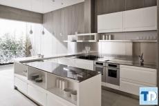 Mẫu thiết kế phòng bếp sang trọng mang đến cuộc sống tiện nghi