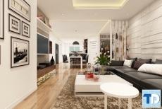 Mẫu nội thất phòng khách hiện đại đẹp như mơ khiến bao người đắm say