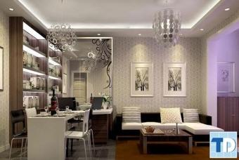 Thiết kế nội thất nhà 4 tầng tân cổ điển cao cấp ấn tượng độc đáo