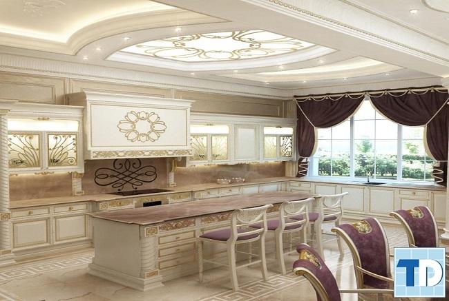 Phòng bếp hiện đại tinh tế
