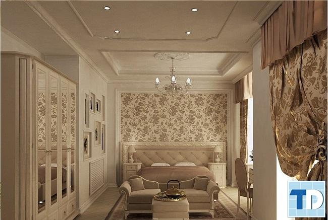 Phòng ngủ master nhẹ nhàng quyến rũ