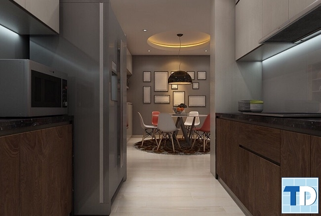 Hành lang lối đi vào bếp