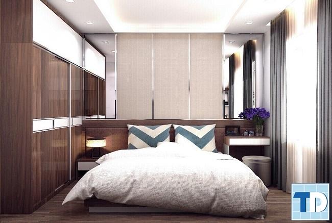 Phòng ngủ master đẹp sang trọng