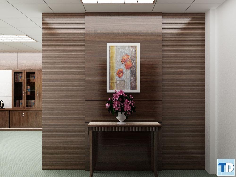 Cửa lối đi vào phòng tổng giám đốc