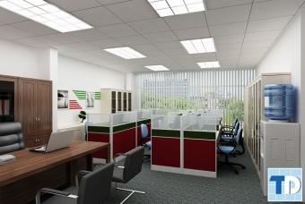 Thiết kế nội thất văn phòng công ty ADV đẹp đẳng cấp chuyên nghiệp
