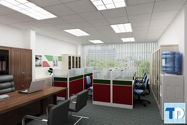 Văn phòng làm việc nhân viên của công ty ADV