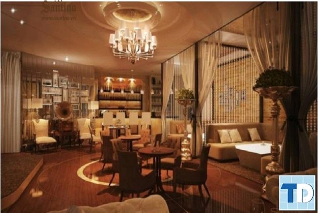 Thiết kế nhà hàng tân cổ điển theo phong thủy