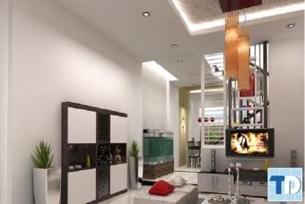 Mẫu thiết kế nội thất nhà phố đẹp phong cách sang trọng mà đơn giản