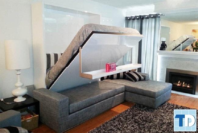 Sofa gấp thành giường