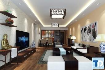 Phong cách hiện đại trong mẫu thiết kế nội thất nhà phố đẹp sang trọng