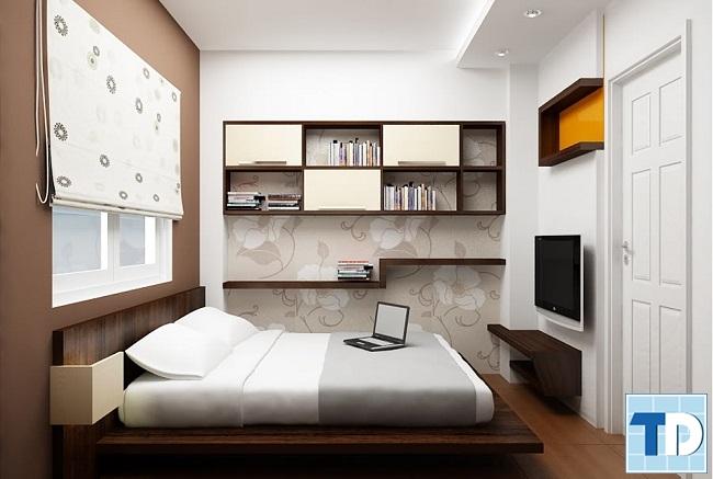 Phòng ngủ con trai đơn giản cá tính