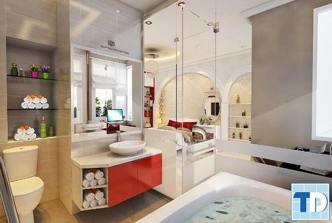 Phòng tắm cao cấp