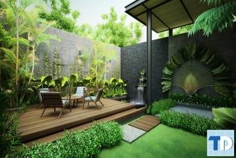 Không gian sống nhà đẹp gần gũi chan hòa với thiên nhiên