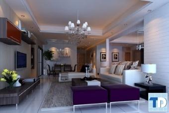Sang trọng lôi cuốn với mẫu thiết kế nội thất nhà phố đẹp cao cấp