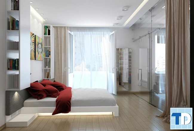 Phòng ngủ master sang trọng