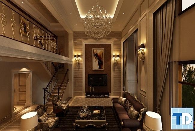 Thiết kế phòng khách thông thoáng tạo cảm giác thoải mái