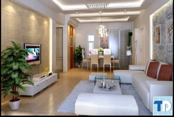Sự đơn giản gọn gàng nổi bật trong mẫu thiết kế nội thất nhà phố đẹp