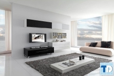 Các mẫu nội thất phòng khách đơn giản hiện đại mà cuốn hút