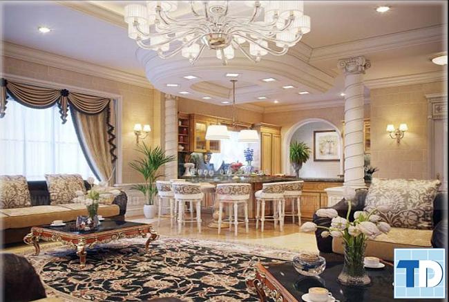 Thiết kế phòng khách theo mệnh gia chủ