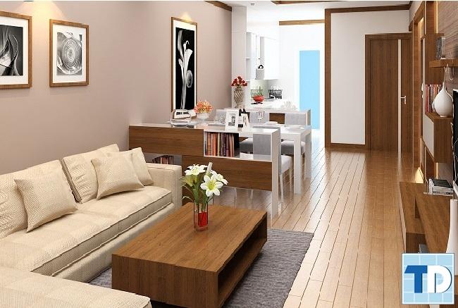 Nội thất gỗ tạo ra không gian sang trọng quý phái mà gần gũi