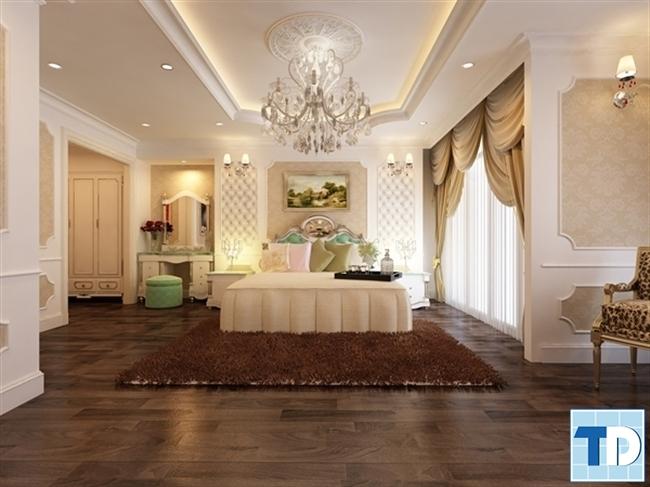 Không khí trong phòng ngủ cần thiết kế lưu thông thoáng