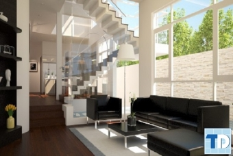 Ngắm nhìn mẫu thiết kế nội thất nhà phố đẹp sang trọng ai cũng ước ao