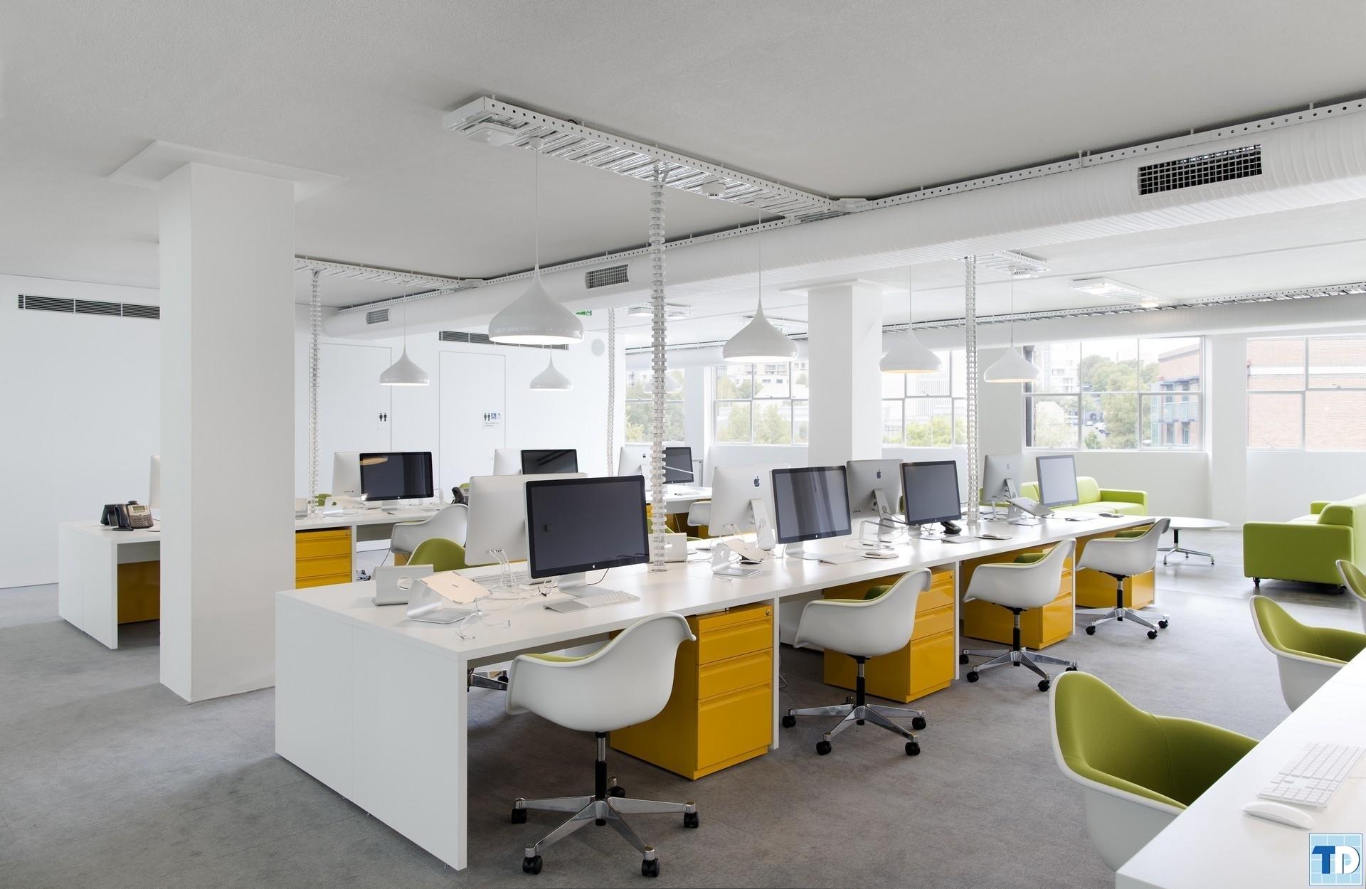 Thiết kế phòng làm việc ở nơi ánh sáng trong lành