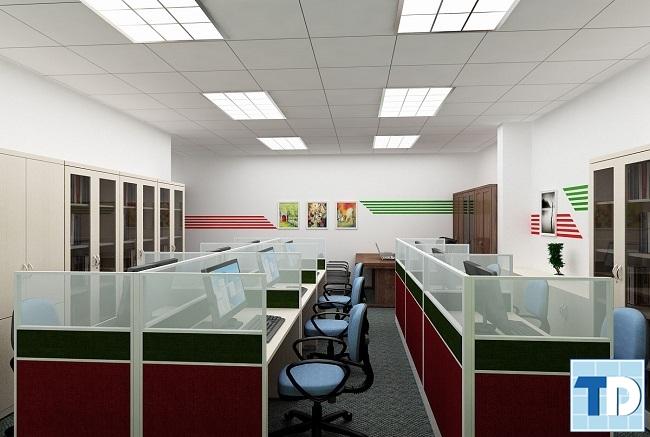 Không đặt văn phòng đối diện cột điện, bình điện hay gốc cây