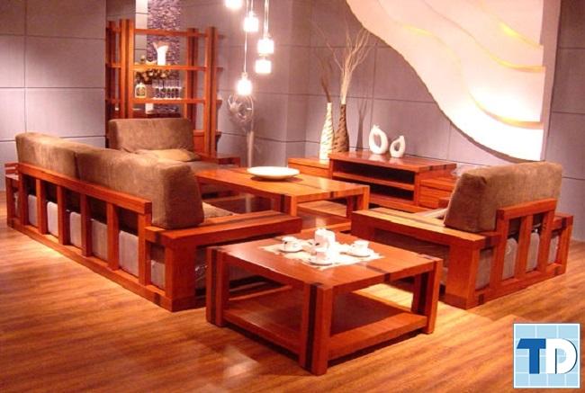 Bàn ghế gỗ truyền thống đẹp