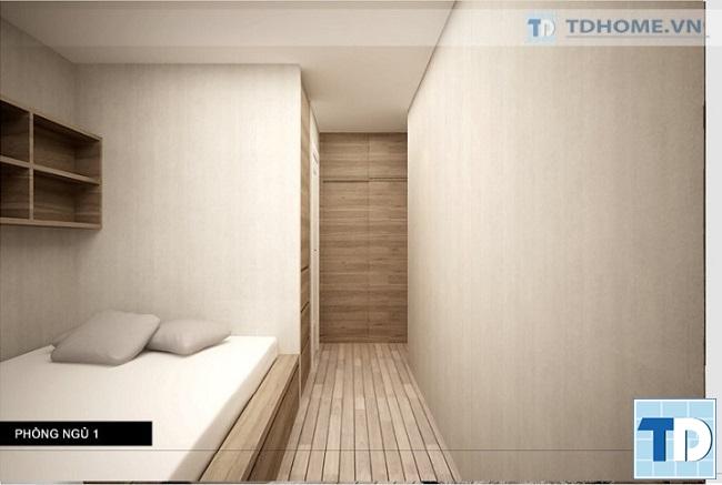 Phòng ngủ thông thoáng