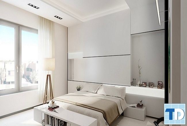 Phòng ngủ con gái trang nhã đẹp