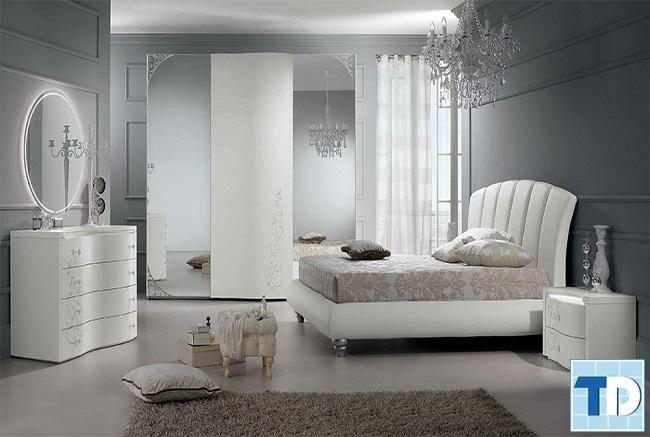 Thiết kế phòng ngủ mởcửa sổ để đủ oxy trong phòng