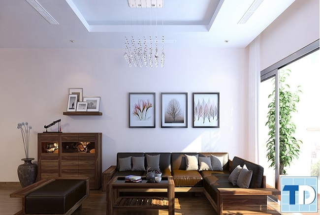 Nội thất gỗ cao cấp mang tới không gian đẳng cấp