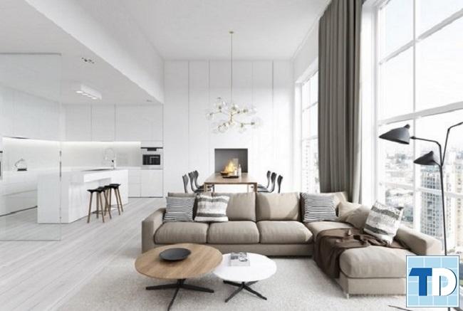 Mẫu căn hộ nhà chị Mai hiện đại sang trọng